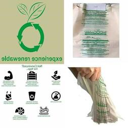 100 Dog Waste Poop Bags Compostable Not Made From Plastic Si