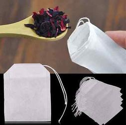 100Pcs Empty Tea Bags With String Heal Seal for Herb Loose T