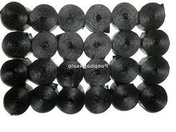1034 BLACK DOG WASTE POOP BAGS THICKNESS 12 -14 MICRONS CORE