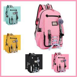 Anti Theft Backpack Large School Bags USB with Lock for Teen