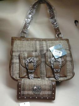 CLEARANCE!!  Purse and Wallet Western Women