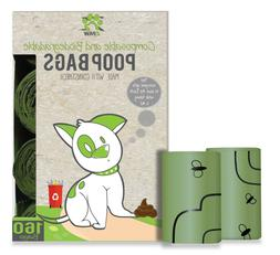 Compostable and Biodegradable Dog Poop Bags Leave Zero Waste