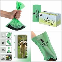 Dog Poop Bags Container Single Roll Pickup Pet Disposable 13