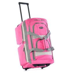 DUFFLE BAG TRAVEL ROLLING LARGE WITH WHEELS FOR WOMEN CUTE G