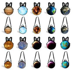 Fashion Planet Kid's Round Backpack Children Crossbody Bags