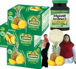 Hindu Green Tea with Pineapple Flavor 20 Pack of 3-total 60