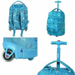 High Quality Roller Rolling Bag Kids School Backpack With Wh
