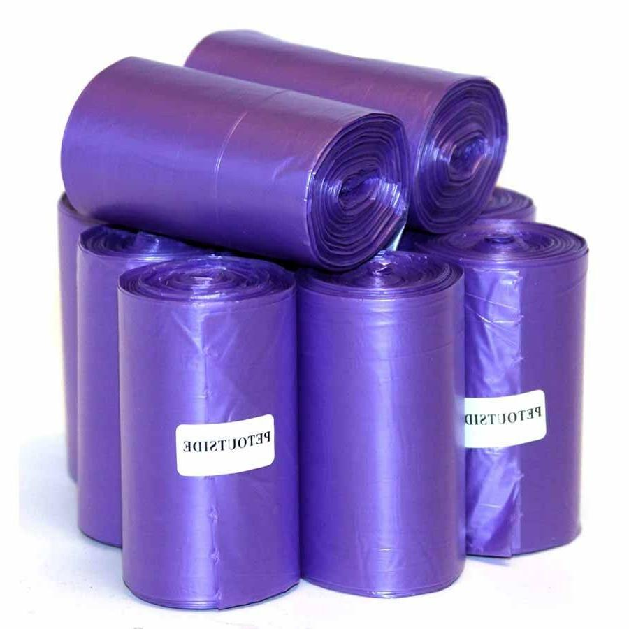 1035 DOG WASTE POOP BAGS 45 REFILL NOCORE BIODEGRADABLE ROLL