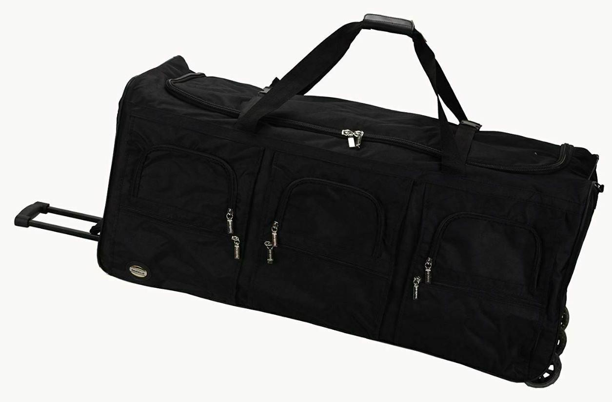 40 Duffle Bag With Wheels XL Rolling Luggage Men Women Trave