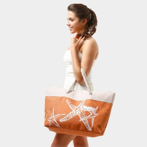 Anchor - Summer with Zipper Bag For