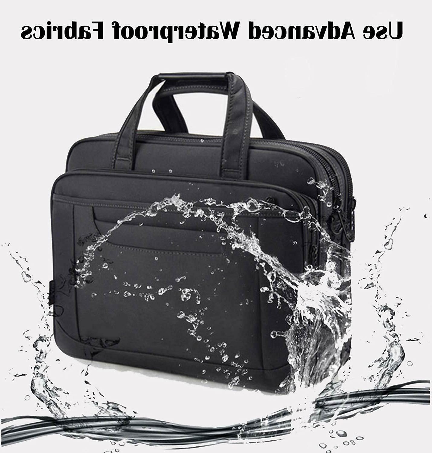Briefcase Bag 15.6 Inch Laptop Messenger Office Bag Wome...
