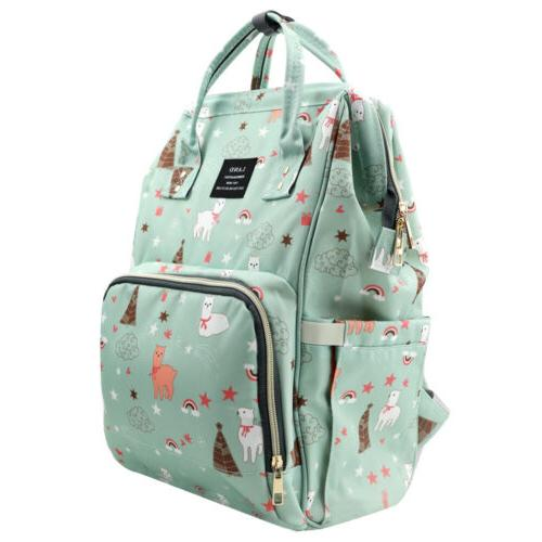 LAND Diaper Mummy Backpack Baby Large Bags