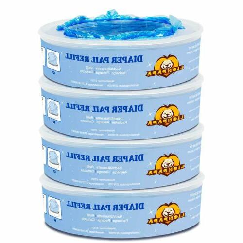 diaper pail refills compatible with diaper genie