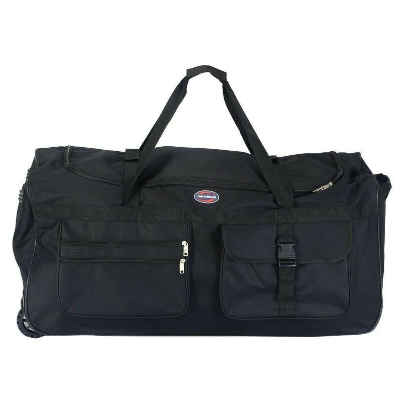 Duffel Large Men With Wheels Travel Carry-On Strap