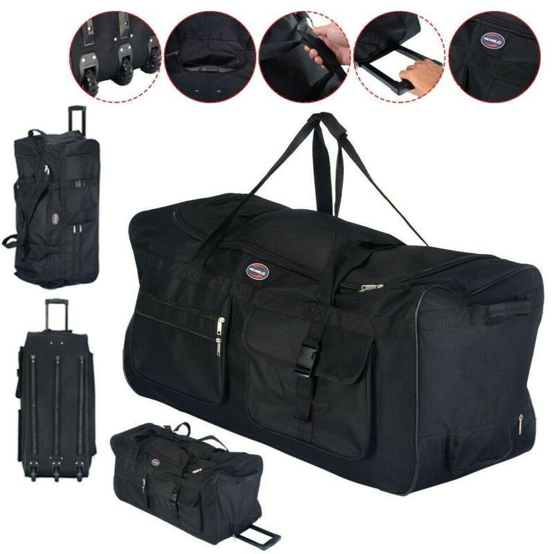 Duffel Large For Men Women Travel Carry-On Gym Strap NEW