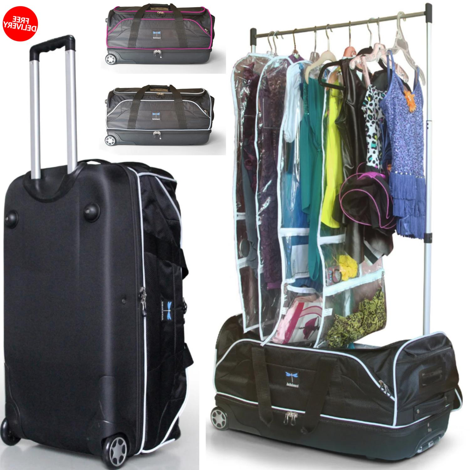 Duffel Bag With Garment Rack And Multi Compartment & 28 Inch