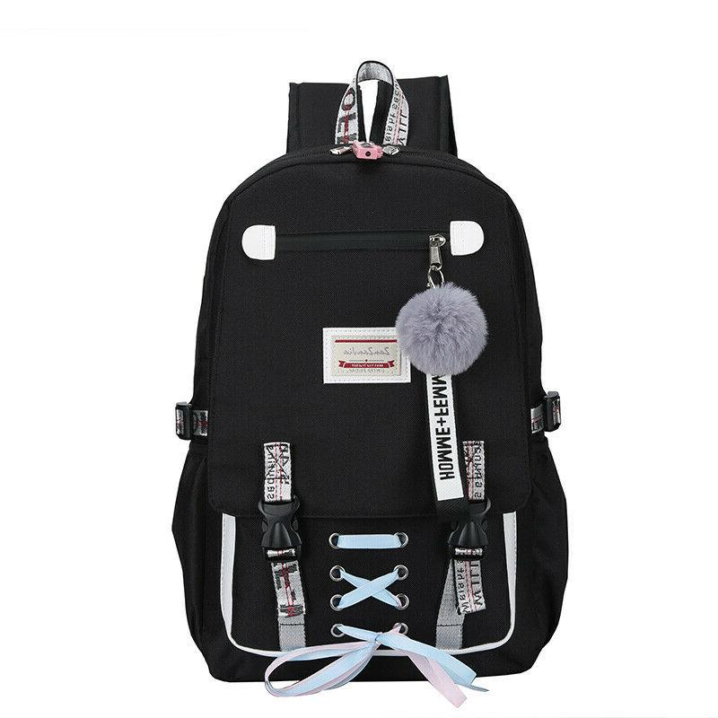 2019 Large for Teenage Girls with Lock Backpack