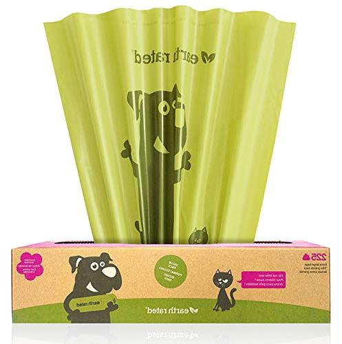 lavender scented pet waste bags