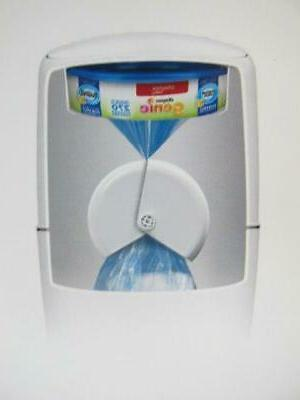 Playtex Complete All in Disposal Pail Trash Can+ Bag Filter