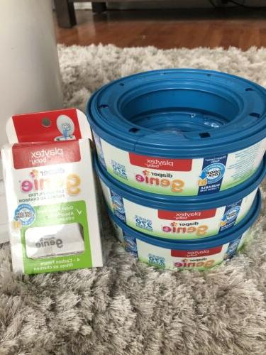 Playtex Genie Complete Assemble Pail Bag Refills