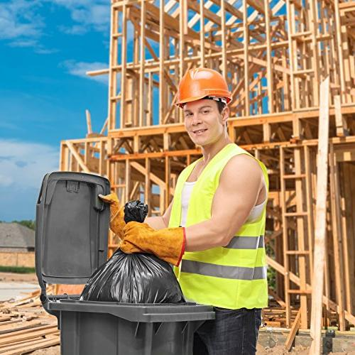 Trash Bags, For Gallon, Large Heavy Garbage Bags,