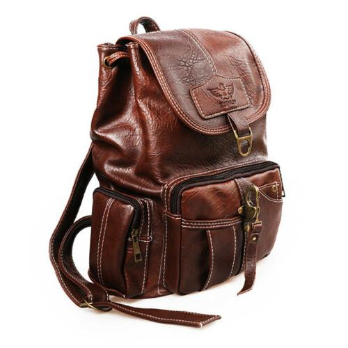 Women Backpack Shoulder Vintage Travel Rucksack