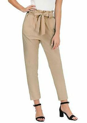 women s pants trouser slim casual cropped