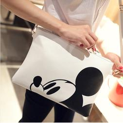 Messenger Bag For Women Minnie Mickey Mouse Bags ECO Leather