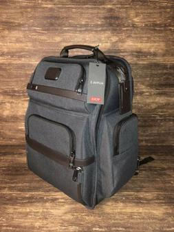 New Men's Tumi Alpha 3 - Brief Pack Backpack - Anthracite &