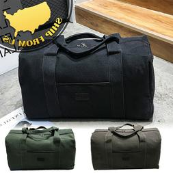 New Men's Military Canvas Duffle Luggage Travel Bags Shoulde