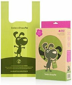 Earth Rated Poop Bags, Dog Waste Bags with Easy Tie Handles,