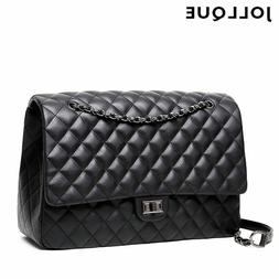 quilted women s clutch handbags leather travel