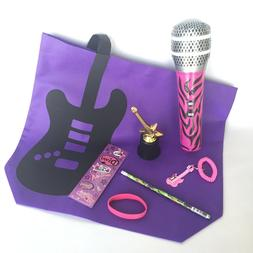 Rock'N Roll Goodie Bags, Birthday Party for Girls, Gifts, Pr