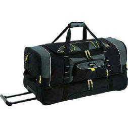 Rolling Duffel With Blade Wheels Jumbo Bag 36 Inch 2-Section