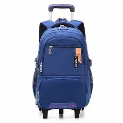 School Bag Trolley Backpack For Boy And Girl Large Capacity