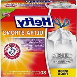 Hefty Ultra Strong Tall Kitchen Trash Bags - Lavender & Swee