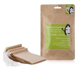MIAOMIAO Unbleached Tea Filter Bags Disposable Loose Leaf Te