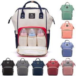 Stylish Waterproof Large Diaper Bag Baby Nappy Backpack Orga