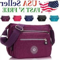 Waterproof Messenger Cross Body Ladies Handbag Bag Shoulder