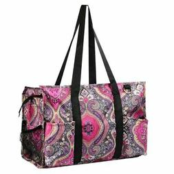 Wireframe Utility All Purpose Shopping Travel Laundry Tote B