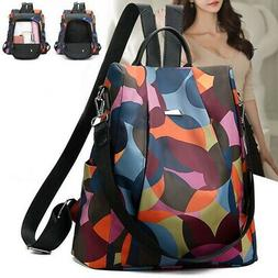 women lady backpack purse anti theft rucksack